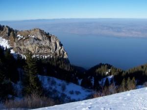 Lake Geneva from Thollon